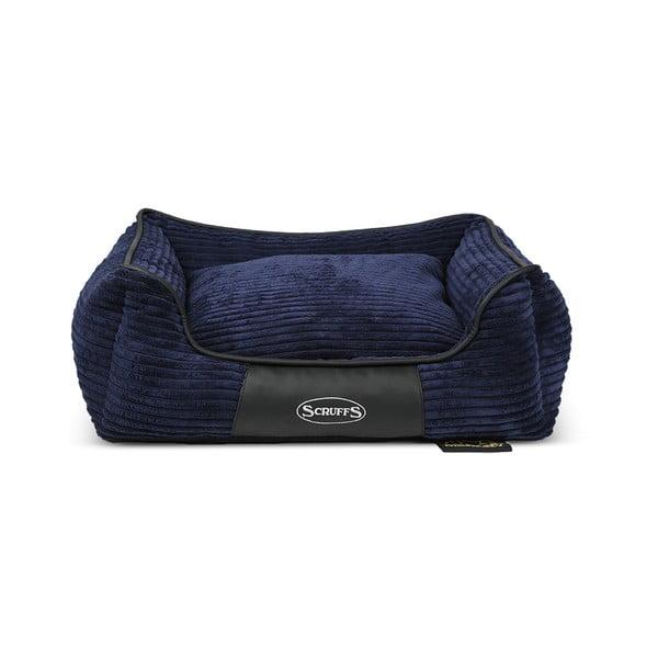 Psí pelíšek Milan 60x50 cm, tmavě modrý