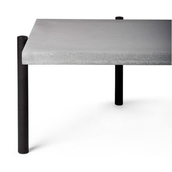 Betonový konferenční stůl s přídavným stolkem Lyon Béton Twist