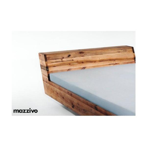 Postel Lugo z olšového dřeva, 180x200 cm, natural