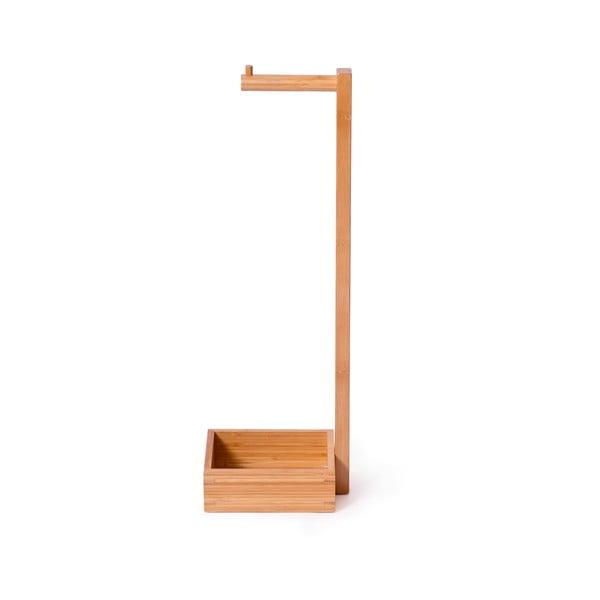 Dřevěný stojan na toaletní papír Wireworks Arena Bamboo