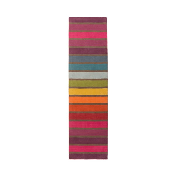 Vlněný běhoun Flair Rugs Illusion Candy, 60 x 230 cm