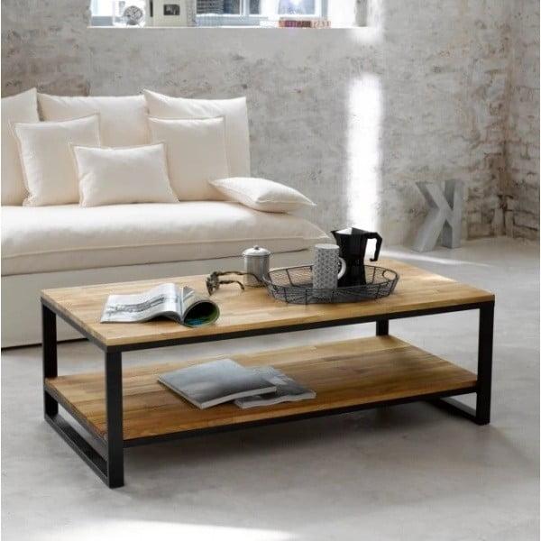Konferenční stolek z masivního mangového dřeva Massive Home Jenny