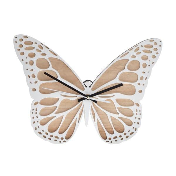 Hodiny Butterfly Clock, 35 cm