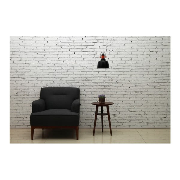 Černá stropní lampa Garageeight Etel