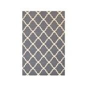 Vlněný koberec Kilim Jasmina Grey, 160x230 cm