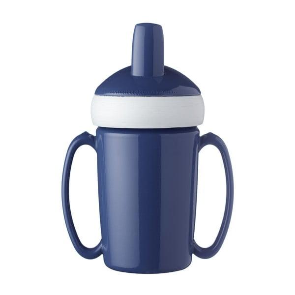 Modrá dětská lahev na vodu Rosti Mepal Trainer Mug, 200ml