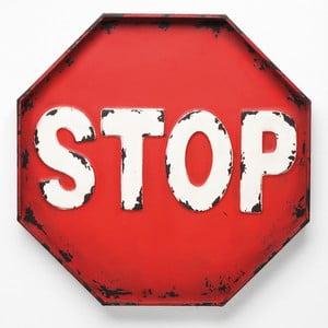 Dekorativní cedule Stop