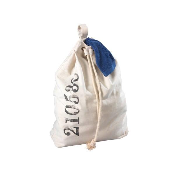 Béžový závěsný koš na prádlo Wenko Sailor