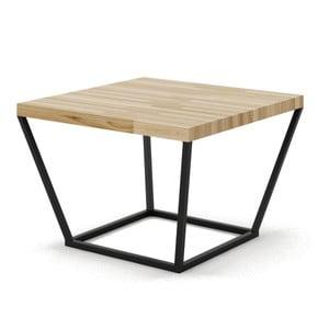 Malý konferenční stůl z dubového dřeva s černým podnožím Absynth Noi