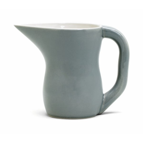 Sivá kameninová nádoba na mlieko Kähler Design Ursula, 420 ml