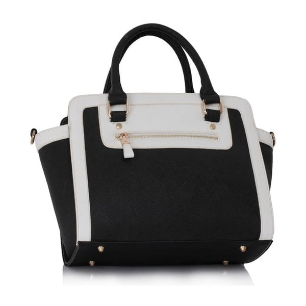 Kabelka L&S Bella Black & White