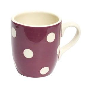 Puntíkatý hrnek Plum Mug