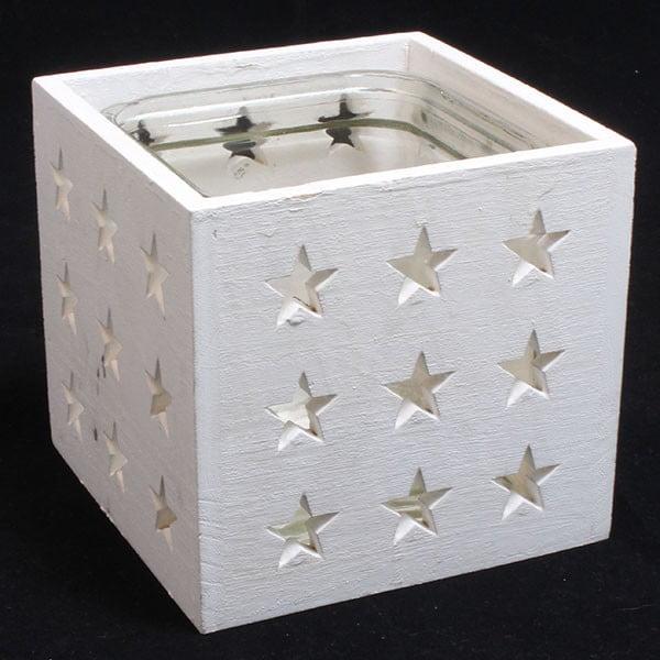 Svícen Dakls,bílé hvězdy