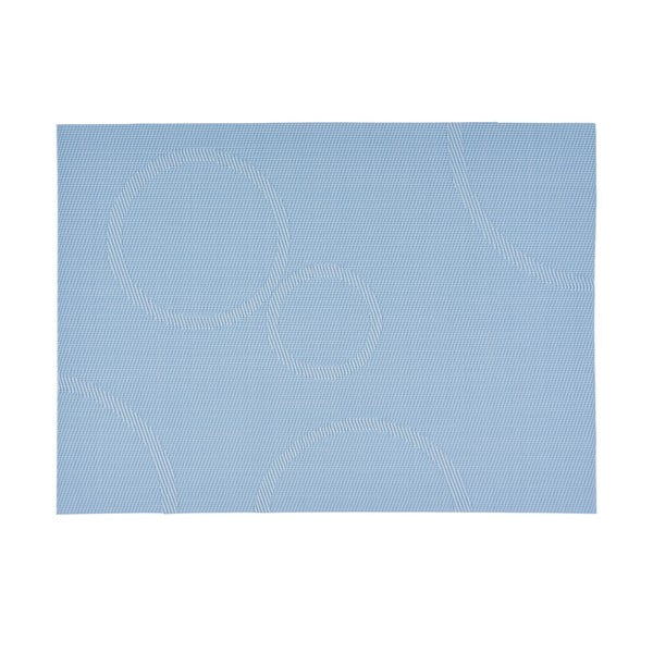 Prostírání s kruhy, světle modré 40x30 cm
