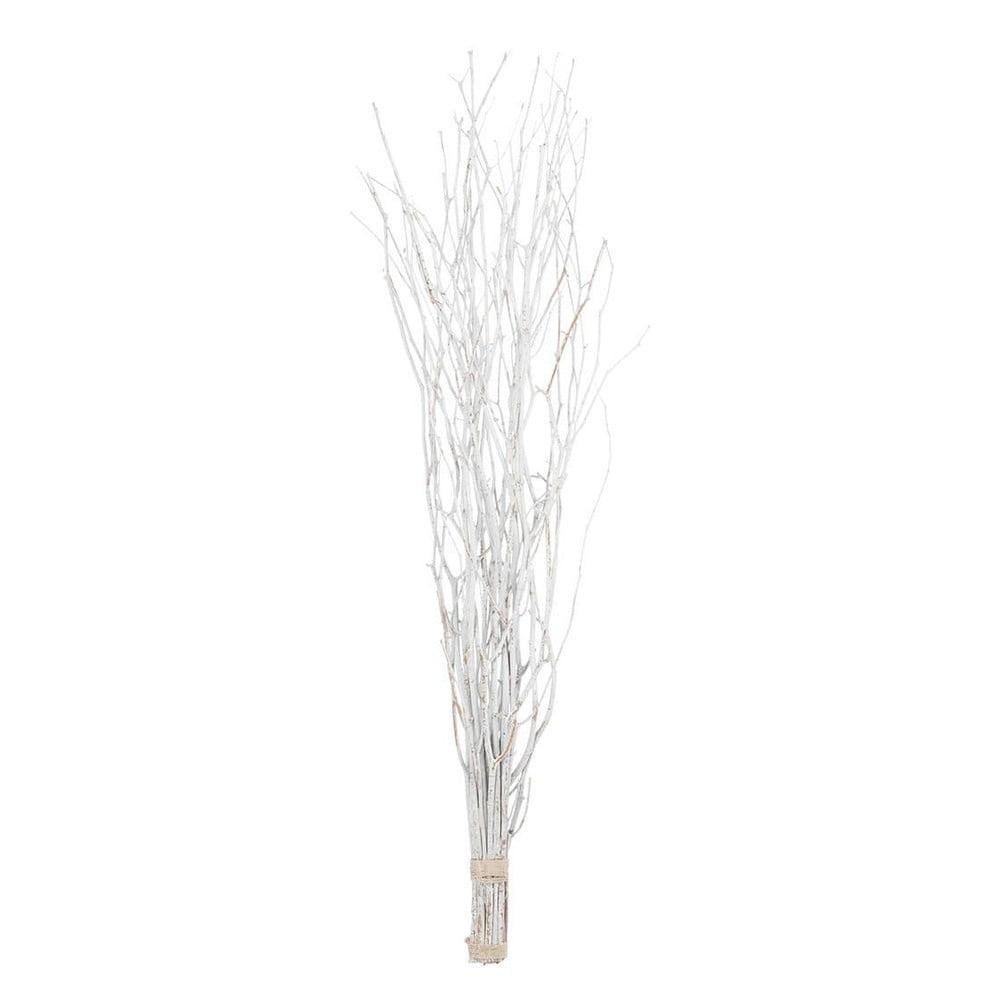 Bílá umělá květina J-Line Branch