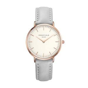 Šedé dámské hodinky Rosefield The Tribeca