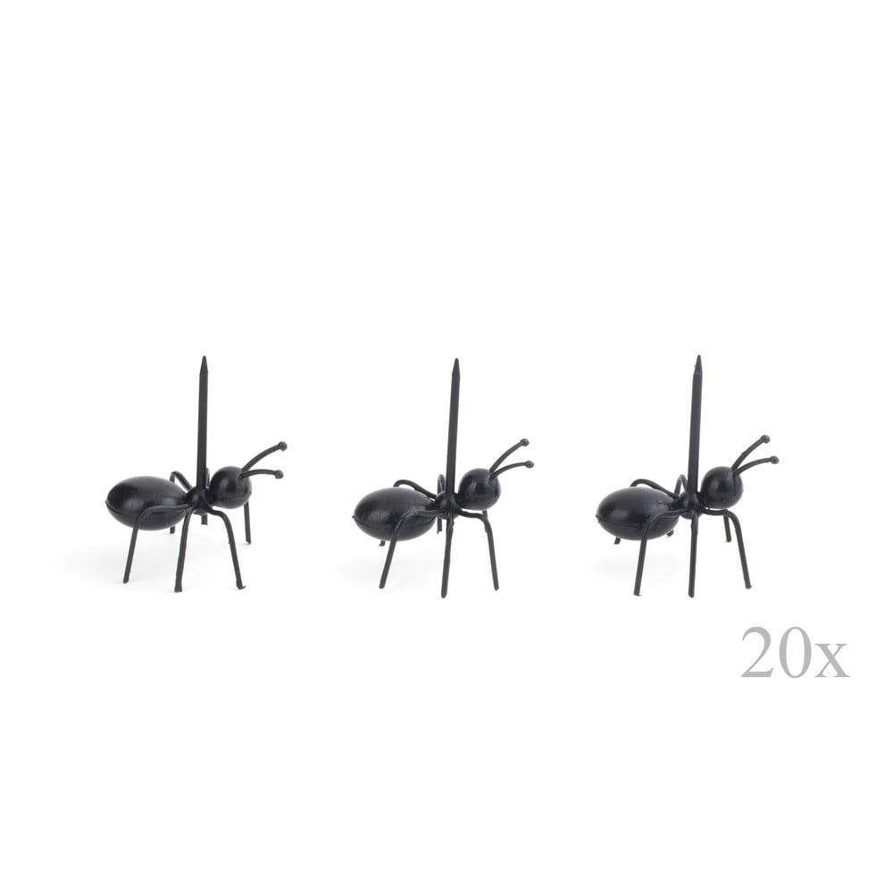 Sada 20 párátek kservírování Kikkerland Ants