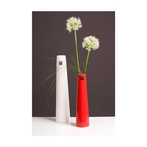 Váza Maroni 41 cm, bílá
