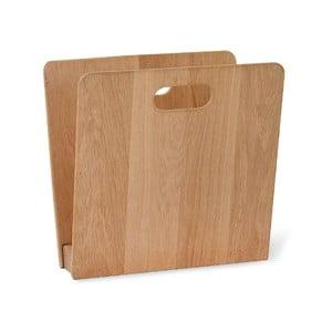 Stojan na časopisy z dubového dřeva Garden Trading, šířka 22 cm