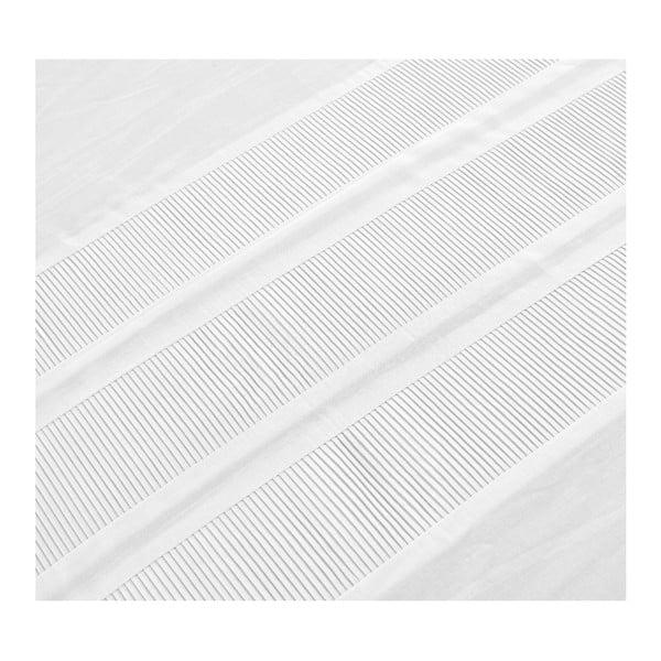 Lenjerie de pat din bumbac percale Dreamhouse Vida, 240 x 220 cm, alb