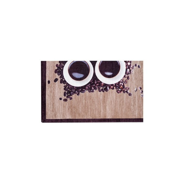 Vysoce odolný kuchyňský koberec Webtappeti Gufocaffe,60x150cm
