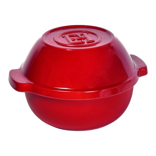 Červený hrnec na brambory Emile Henry Flame