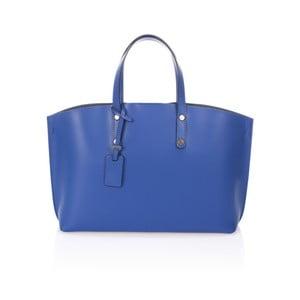 Modrá kožená kabelka Giulia Massari Nala