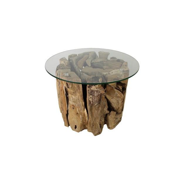 Root dohányzóasztal teakfából - HMS collection