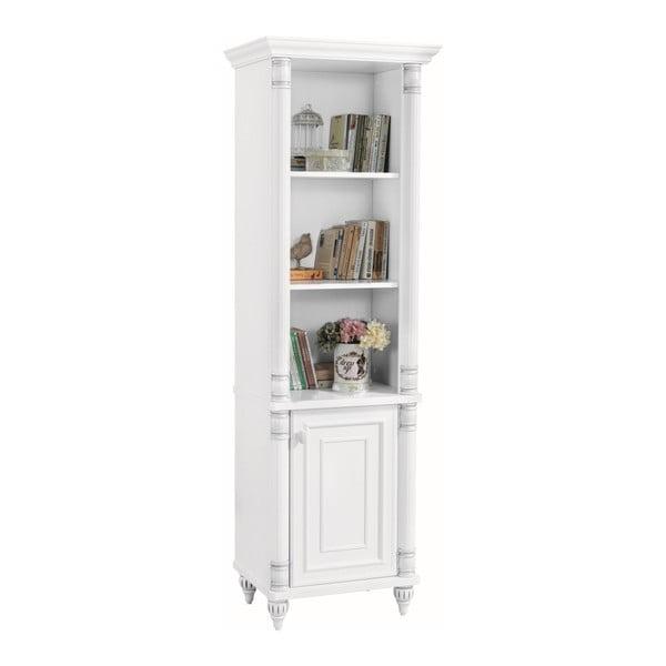 Bílá knihovna Romantic Medium Bookcase