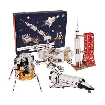 Set spațial DIY pentru copii Rex London Space Mission Vehicles