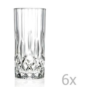 Set 6 pahare din cristale RCR Cristalleria Italiana Jemma de la RCR Cristalleria Italiana