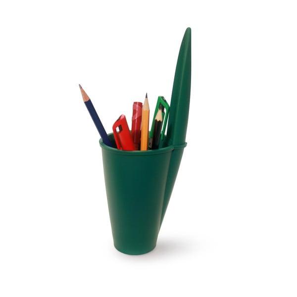 Zelený kancelářský organizér J-Me Lid Pot