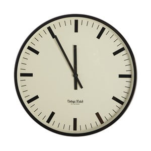 Nástěnné hodiny House Doctor Station, 38 cm