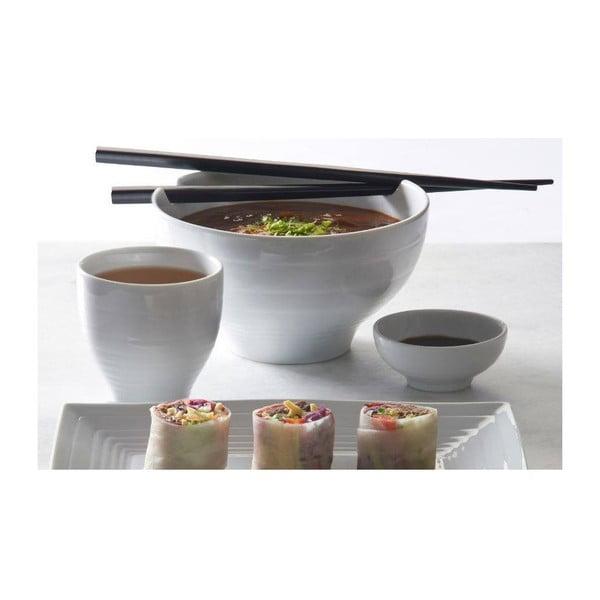 Porcelánový servírovací talíř Silk