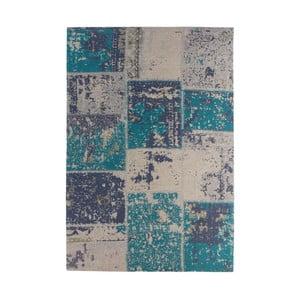 Tyrkysový-šedý koberec Kayoom Neptun, 160 x 230 cm