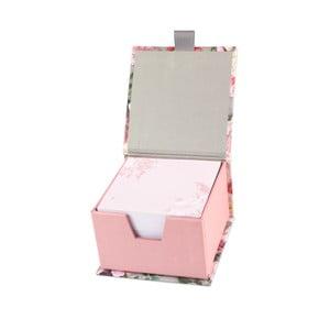 Bloc cu foi pentru notițe, în cutie, Portico Designs Botanique, 400 pag.