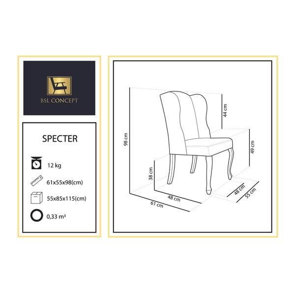 Mentolově zelené křeslo BSL Concept Specter