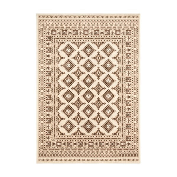 Beżowy dywan Nouristan Sao Buchara, 80x150 cm
