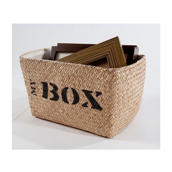 Proutěný košík My Box, 34x21 cm