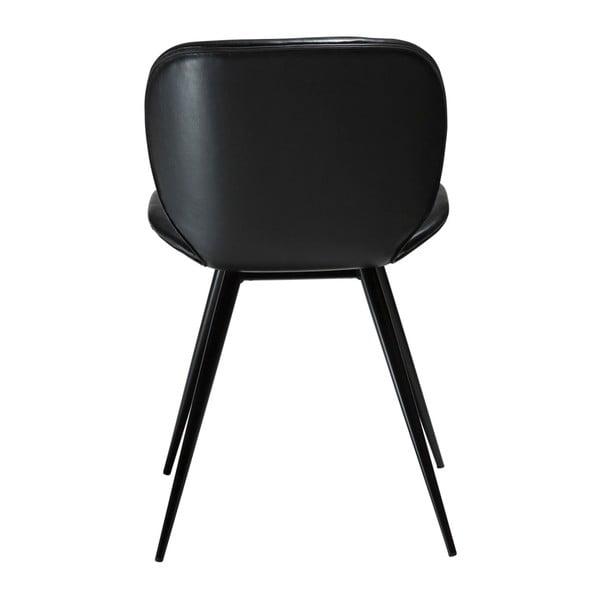Černá koženková židle DAN-FORM Denmark Cloud