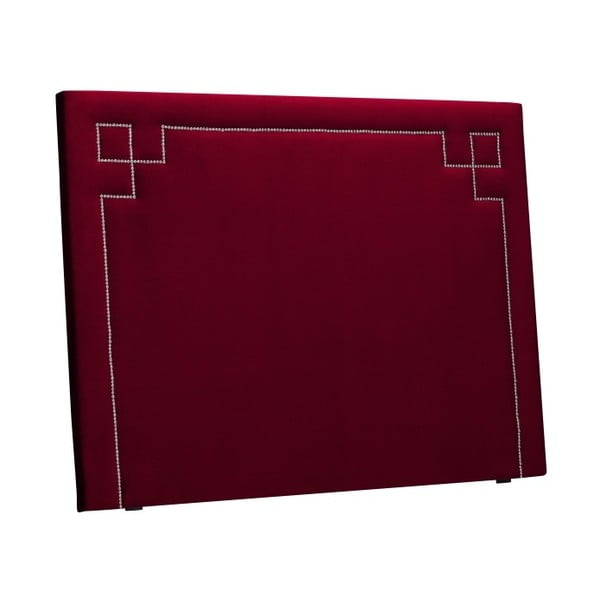 Červené čelo postele THE CLASSIC LIVING Nicolas, 180 x 120 cm