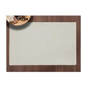 Koupelnová předložka Basic Cream, 50x70 cm
