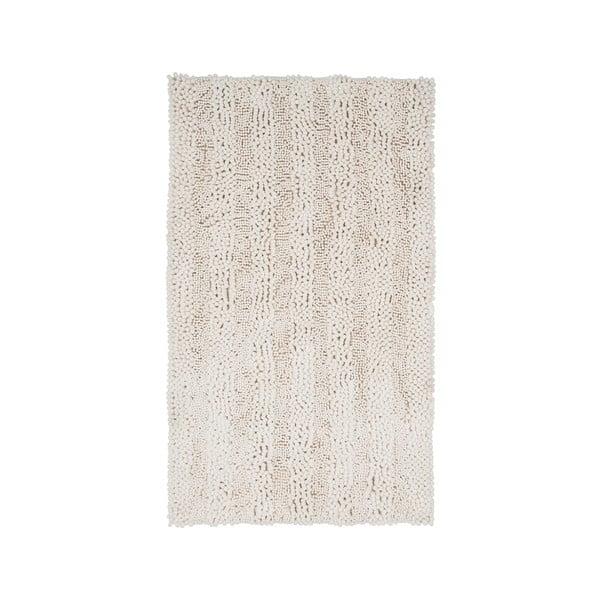 Koupelnová předložka Surface Cream, 65x110 cm