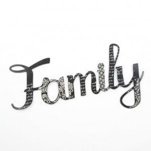 Dekorativní nápis Family