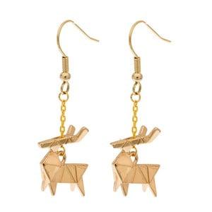 Náušnice Deer Origami
