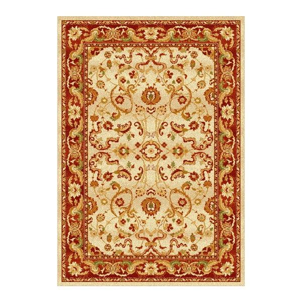 Oranžovobéžový koberec Universal Madras, 190x280cm