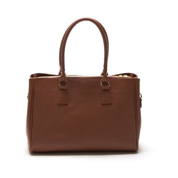 Kožená kabelka Sofia Cardoni 1141 Cognac