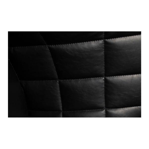 Černé křeslo z eko kůže DAN–FORM Denmark Embrace