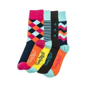 Sada 4 párů ponožek Funky Steps Sia, univerzální velikost
