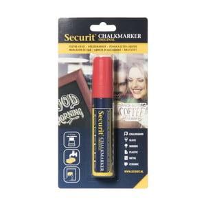 Červený křídový popisovač na vodní bázi Securit® Liquid Passo